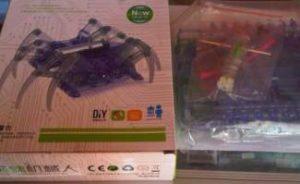 Mekanika Robot Berkaki (Spider-Robot)