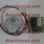Motor DC Stepper 5V 1A 0,0878 Deg Komplit Driver