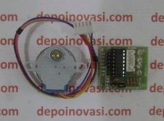 Motor DC Stepper 12V 1A 0,0878 Deg Komplit Driver