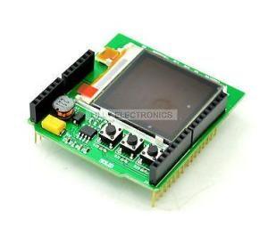Nokia 6100 Color LCD Keypad Shield Arduino