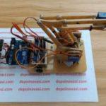 Simulator Robot Arm Palletizer Frame Akrilik