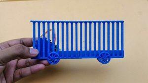 Miniatur Stepper Driven Sliding Gate Support Arduino