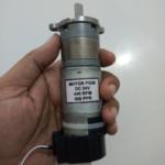 Motor DC PG36 440 RPM 20 kgfcm Encoder