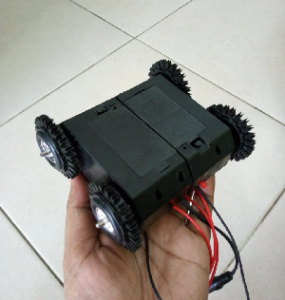 Motor dan Roda 4WD for Mobile Robotics