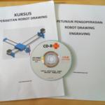 Buku dan CD Kursus Perakitan Arduino Robot Drawing Engraving