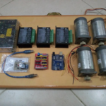 Paket Part Elektronik DIY CNC with Stepper Nema 23 Extra Long