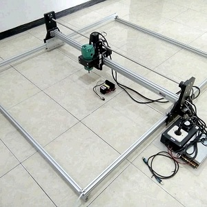 CNC Router Hybrid Laser area kerja 120x100cm Tuner 530W Laser 3500mW