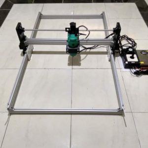 CNC Router Granite Marmer area kerja 100×60 cm Tuner 530W